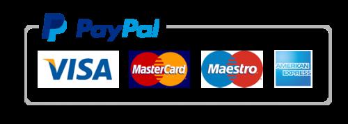 Betal med faktura, kredittkort eller paypal